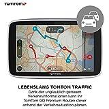 TomTom GO Premium Pkw-Navi (5 Zoll mit Updates über Wi-Fi, Lebenslang Traffic via SIM-Karte, Weltkarten, Navigation letzter Kilometer und IFTTT)