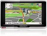 Becker active.5 CE LMU Navigationsgerät (12,7 cm (5 Zoll) Bildschirm, 20 Länder vorinstalliert, TMC, Becker MagClick Aktivhalter, mit Becker SituationScan)