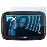 atFoliX Schutzfolie kompatibel mit Tomtom Start 60 2014 Folie, ultraklare FX Displayschutzfolie (3X)