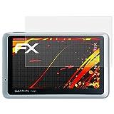 atFoliX Schutzfolie kompatibel mit Garmin nüvi 1350 Displayschutzfolie, HD-Entspiegelung FX Folie (3X)