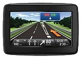 TomTom Start 20 Europe Traffic Navigationssystem (11 cm (4,3 Zoll) Display, 45 Länder, TMC, Fahrspur & Parkassistent, IQ Routes, Map Share) schwarz