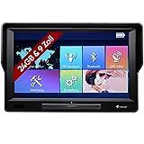 Elebest 90+ Navigationsgerät Windows Großes 9 Zoll (22,8 cm) Display Touchscreen PKW LKW Wohnmobil Bus EU-Karten Radarwarner, Bluetooth, Kostenlose Kartenupdate, starker Akku
