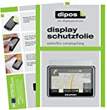 dipos I 3X Schutzfolie matt kompatibel mit Blaupunkt TravelPilot 55 Active Truck Camping Folie Displayschutzfolie
