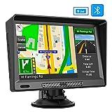 AWESAFE LKW Navigationsgerät 9 Zoll Navigationsystem mit Bluetooth, lebenslang Kartenupdate