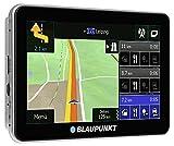 Blaupunkt TravelPilot 53 CE LMU - Navigationssystem mit 12,7 cm (5 Zoll) Touchscreen-Farbdisplay, Kartenmaterial Zentraleuropa, lebenslange Karten-Updates*, TMC Stauumfahrung