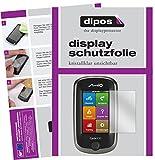 dipos I 3X Schutzfolie klar kompatibel mit Mitac Mio Cyclo 300 Europe Folie Displayschutzfolie
