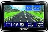TomTom XL LIVE Europe Navigationssystem (Live Services, Europa, Fahrspurassistent, Text-to-Speech, 6  Monate Live Dienste, HD Traffic)