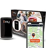 PAJ GPS Allround Finder Version 2020- GPS Tracker etwa 20 Tage Akkulaufzeit (bis zu 60 Tage im Standby Modus) Live-Ortung Peilsender für Auto, Personen