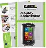 dipos I 3X Schutzfolie matt kompatibel mit Mitac Mio Cyclo 300 Europe Folie Displayschutzfolie