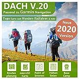 Dach V.20 - Outdoor Topo Karte passend für Garmin eTrex 30, eTrex 30X, eTrex 35, eTrex 35t, eTrex 35 Touch