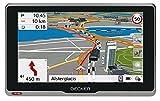 Becker active.6s EU plus Navigationsgerät (15,8 cm ( 6,2 Zoll ) kapazitives Echtglasdisplay, 46 Länder, Live Verkehr, Blitzerwarner, Bluetooth) schwarz