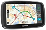 TomTom GO 5100 World Navigationssystem (13 cm (5 Zoll) kapazitives Touch Display, Sprachsteuerung, Traffic/Lifetime Weltkarten)