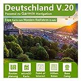 Deutschland V.20 - Profi Outdoor Topo Karte - Topografische Outdoor Freizeitkarte für Garmin GPS Navigation - Zum Wandern, Radfahren, Wandern, Touren, Trekking, Geocaching & mehr…