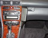 Waeco MBK255 Kunstleder Telefonkonsole schwarz für Mercedes Benz C-Klasse (W203) ab Bj. 2001