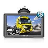 AWESAFE Navigation für Auto LKW Bluetooth Navigationsgerät 7 Zoll Navigationsgerät 2020 Kartenupdate Europa