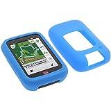 foto-kontor Tasche für Falk Tiger Geo Schutzhülle Silikon Case Schutz Hülle blau