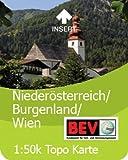Satmap GPS System Karte 1:50000 Österreich: Niederösterreich/Burgenland/Wien