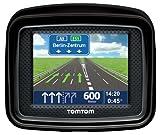 TomTom Urban Rider Central Europe Motorrad-Navigationssystem (8,9 cm (3,5 Zoll) Display, IQ Routes, Fahrspurassistent) mattschwarz