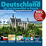 Deutschland Garmin Karte Outdoor Topo Höhenlinien microSD Garmin etrex Vista hcx GPSMap 60 Wander & Outdoor GPS-Geräte