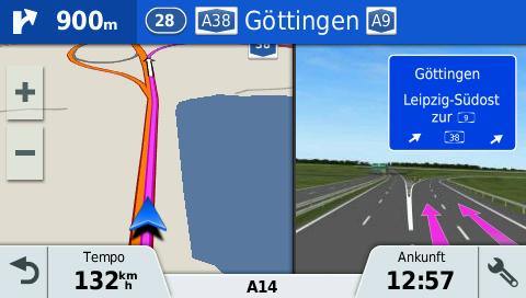 Garmin-driveassist-51-Darstellung-Ausfahrt