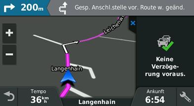 Garmin-driveassist-51-Gesperrte-Ausfahrt-auf-der-Route