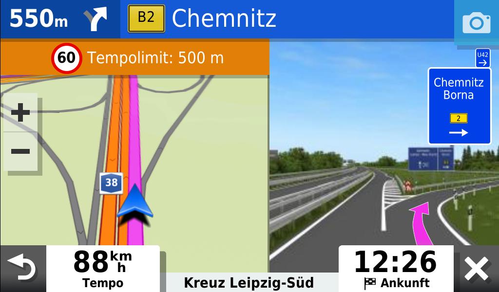 garmin-drivesmart-65-abfahrt-autobahn-und-geschwindigkeitsbegrenzung