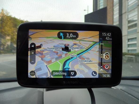 TomTom Go Essential im 3D Modus
