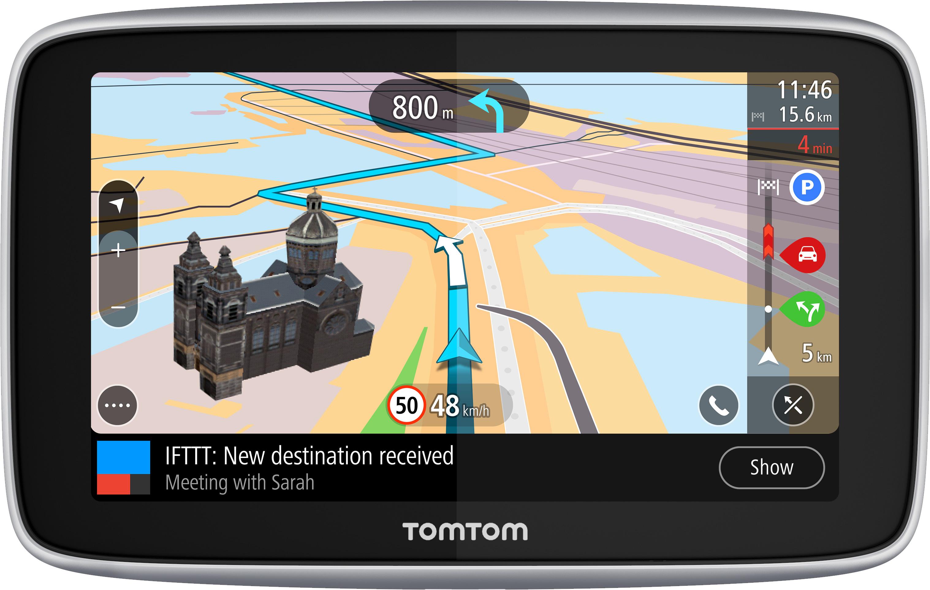 TomTom–GO-Premium-5-Zoll-Silber