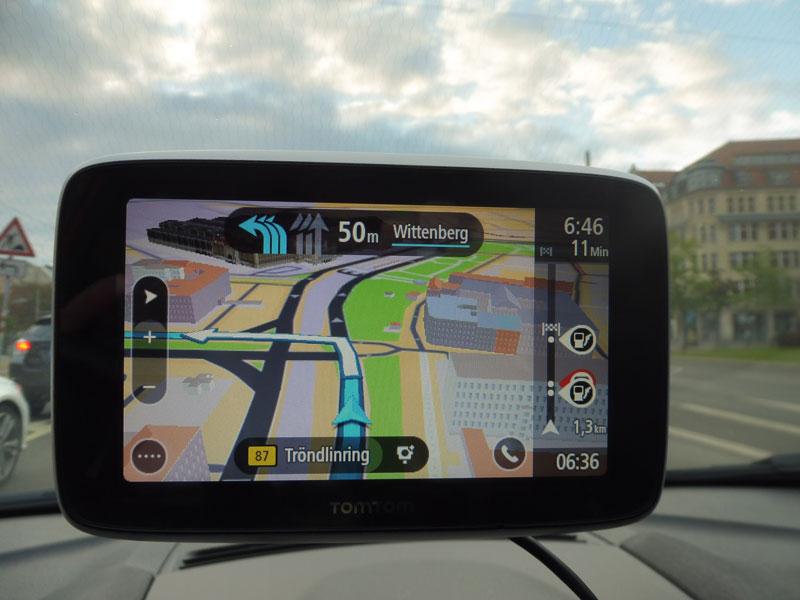TomTom Go Premium mit einer schönen 3D Ansicht