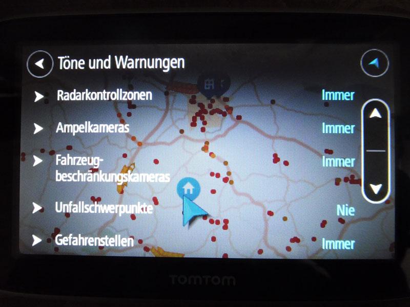 TomTom Go Premium Töne individuell einstellen
