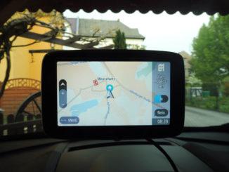 TomTom Go Premium navigiere zum Arbeitsort