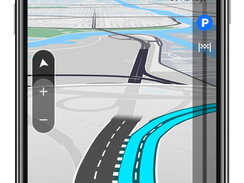 eue TomTom GO Navigation App mit Apple CarPlay  