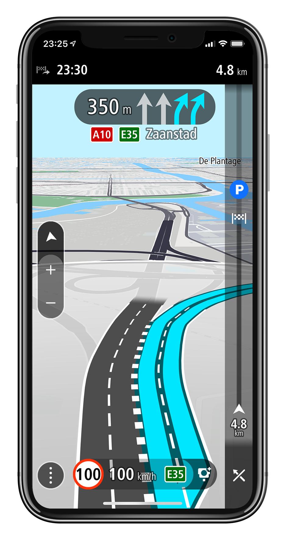 TomTom GO Navigation – Moving_Lane_Guidance_km