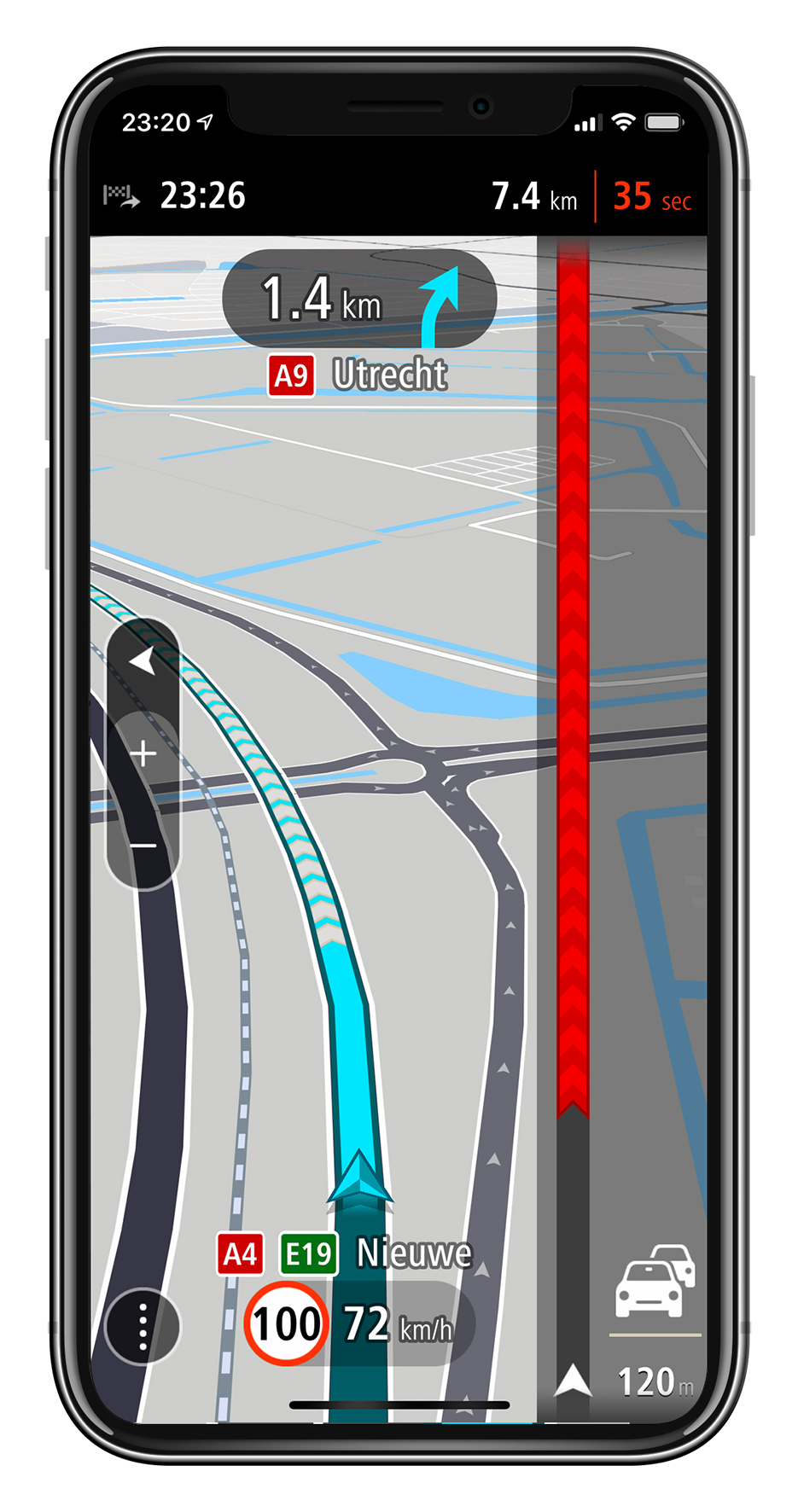 TomTom GO Navigation – Traffic_km