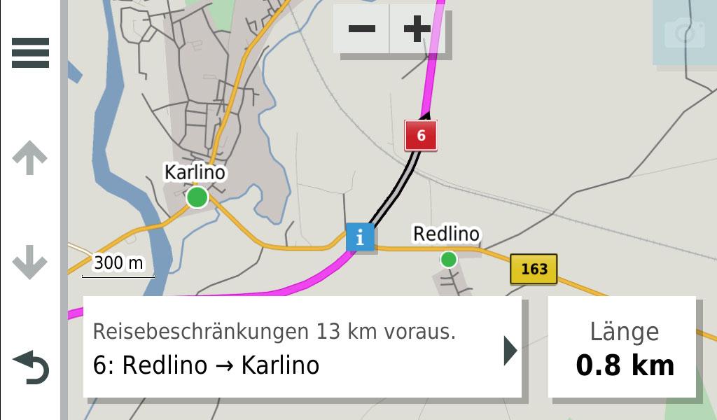 garmin-drivesmart-65-mit-alexa-stauinfo-zur-route-nach-klick-auf-display