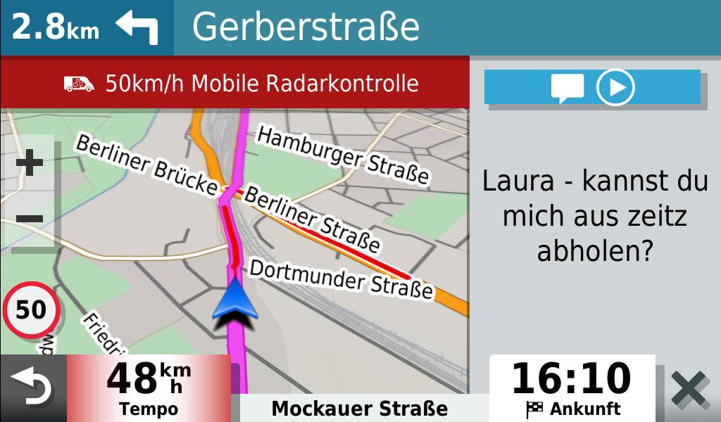garmin-drivesmart-65-mit-alexa-whatsapp-ansehen-und-abspielen-lassen