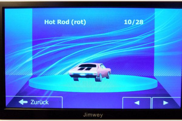 Jimwey Navi Fahrzeugssymbol wählen