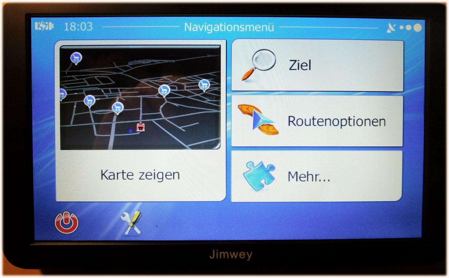 Jimwey-navigation-menue
