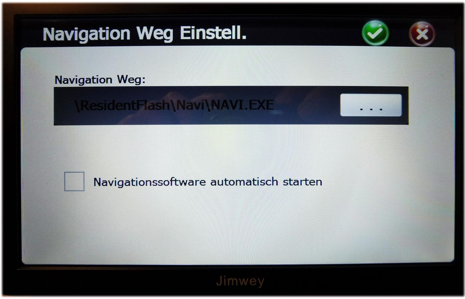 Jimwey-navigationssoftware-starten-richtigen-pfad-suchen