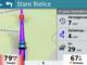 Garmin Navigationsgerät im 3 D Modus mit Live Verkehrsdaten