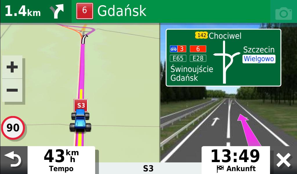 garmin-drivesmart-65-mit-alexa-richtige-ausfahrt-auch-im-ausland-gut-dargestellt