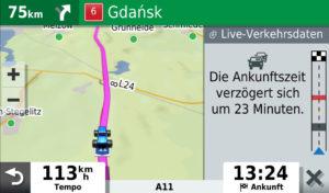 Garmin Drive Smart 65 ALEXA mit Verzögerungen in der Live-Ansicht