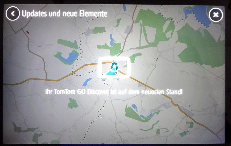 TomTom Go Discover 7 Zoll mit aktuellen Kartenmaterial mit
