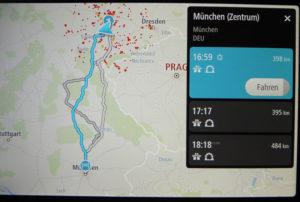 TomTom Go Discover sekundschnelle Routenberechnung