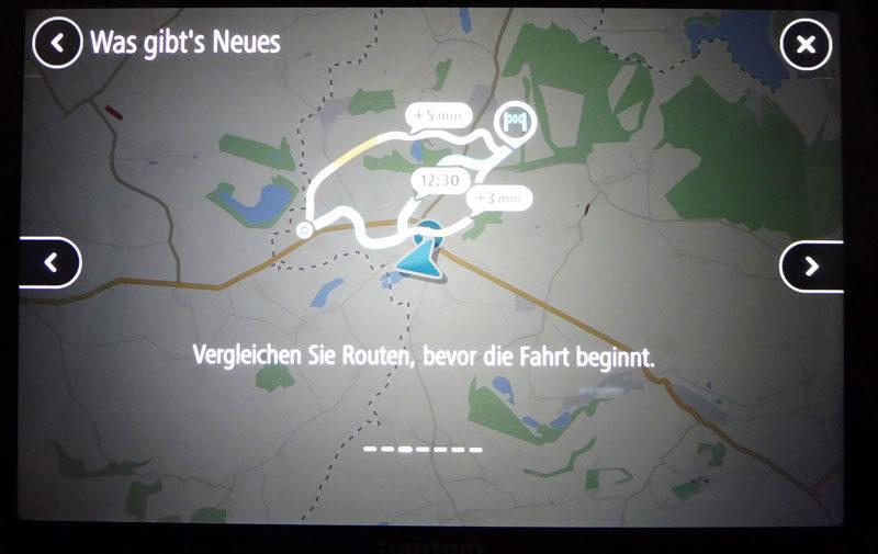 TomTom Go Discover 7 Zoll Was gibt es neues auf dem Navigationsgerät